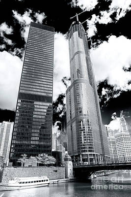 Photograph - Chicago Skyscrapers by John Rizzuto
