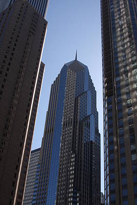 Photograph - Chicago Skyscrapers by Vadim Levin
