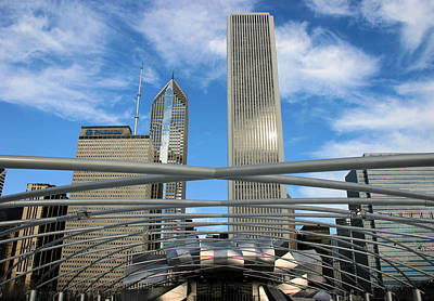 Photograph - Chicago Steel by Kristin Elmquist