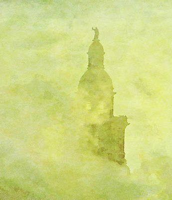 Mixed Media - Chicago Steeple by Dennis Buckman