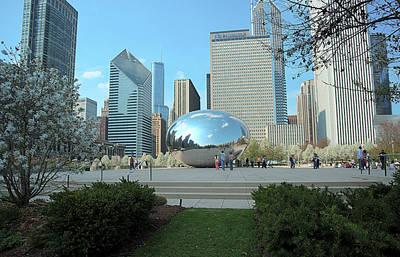 Photograph - Chicago by Steven Dunn