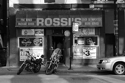 Photograph - Chicago Storefront Bw1 by Frank Romeo