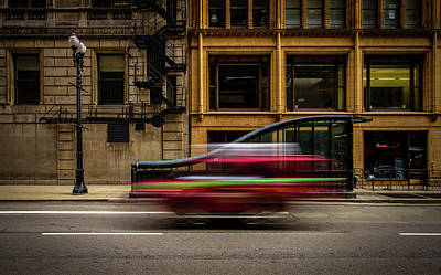 Chicago Street Art Print by Mike Burgquist