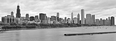 B Drake Photograph - Chicago Stretches Out by Frozen in Time Fine Art Photography