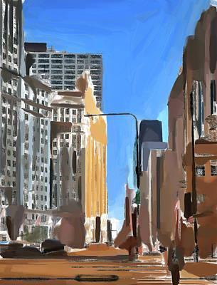 Digital Art - Chicago Sunny Day 2 by Yury Malkov