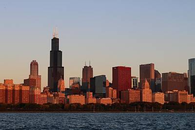 Photograph - Chicago Sunrise by Kelly Smith
