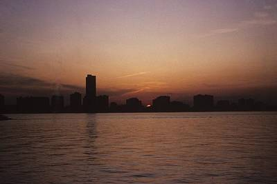 Photograph - Chicago Sunset by Gary Wonning