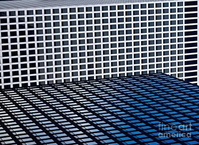 Tetris Block Photograph - Chicago Tetris by Debra Banks