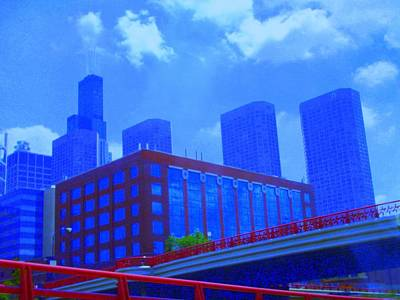 Photograph - Chicago The City Of Blues by Julie Lueders