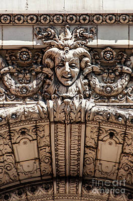 Photograph - Chicago Theater Jester by David Levin