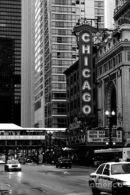 Mike Schmidt Photograph - Chicago Theater by Mike Schmidt