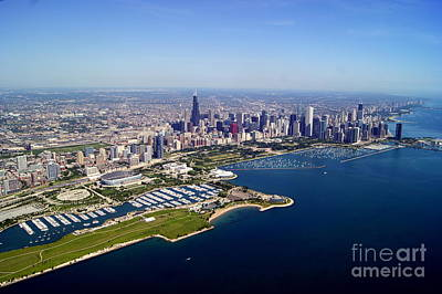 Chicago To North 2 Art Print by Bill Lang