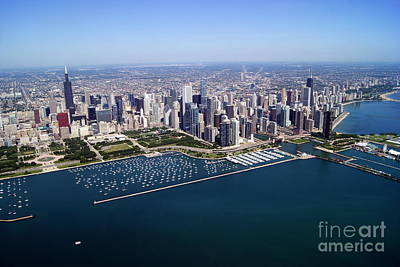 Photograph - Chicago To North 3 by Bill Lang