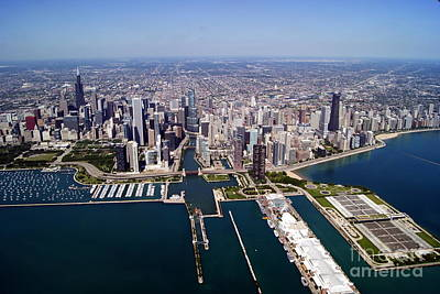 Photograph - Chicago To West 2 by Bill Lang