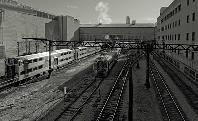 Photograph - Chicago Train Station by Linda Unger