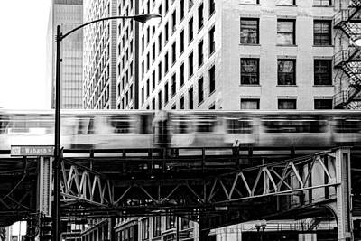 Photograph - Chicago Transit by Anthony Citro