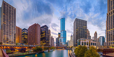 Photograph - Chicago Trump Tower  by Emmanuel Panagiotakis