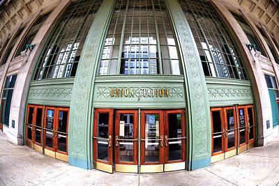 Photograph - Chicago Union Station Fisheye by John Rizzuto