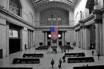 Chicago Union Station Art Print