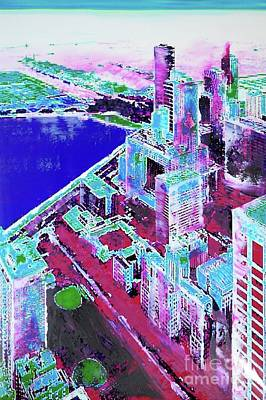Chicago View Art Print