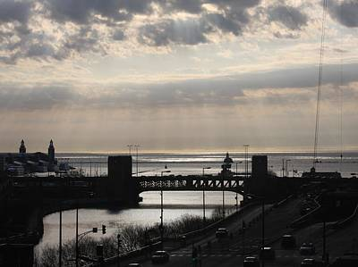 Photograph - Chicago - View On Lake Michigan by Vadim Levin