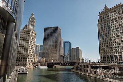 Photograph - Chicago View by Patricia Hofmeester