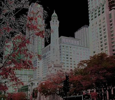 Chicago Photograph - Chicago Water Tower by Rosemary Babikan