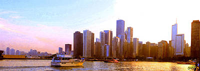 Photograph - Chicago Waterfront 1 by CHAZ Daugherty