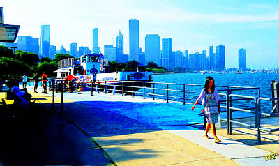 Photograph - Chicago Waterfront 16 by CHAZ Daugherty