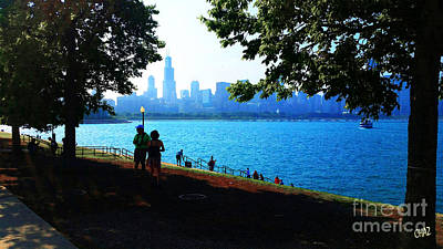 Photograph - Chicago Waterfront 7 by CHAZ Daugherty