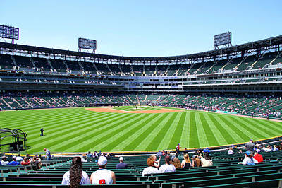 Chicago White Sox Center Field View Art Print by Thomas Woolworth