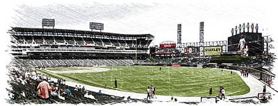 Chicago White Sox Family Day Panorama 05 Pa 01 Art Print