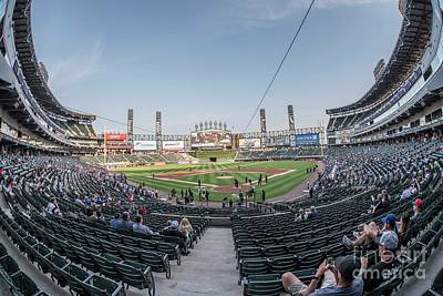 Photograph - Chicago White Sox Park by David Bearden