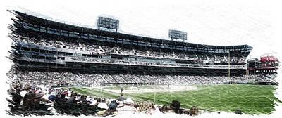 Chicago White Sox Seating Panorama 02 Pa 01 Art Print