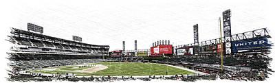 Chicago White Sox Seating Panorama 03 Pa 02 Art Print