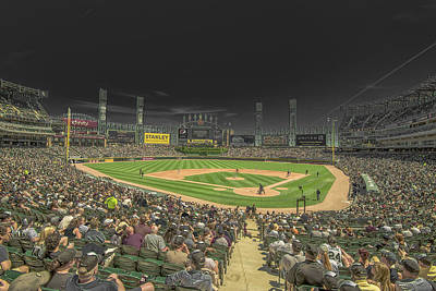 Photograph - Chicago White Sox Us Cellular Field Creative 2 by David Haskett