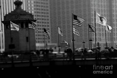 Frank J Casella Royalty-Free and Rights-Managed Images - Chicago Wind by Frank J Casella