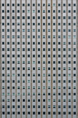 Chicago Windows Art Print by Steve Gadomski