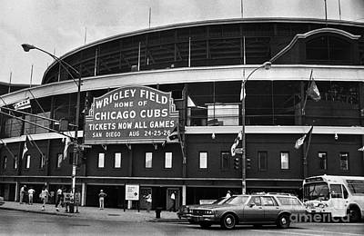 Chicago: Wrigley Field Art Print