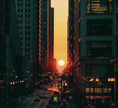 Art Print featuring the photograph Chicagohenge by Nisah Cheatham