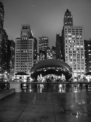 Chicago's Bean Art Print