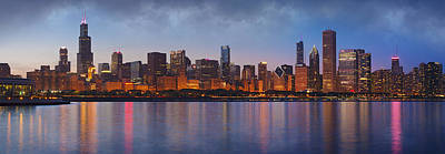 Chicago Skyline Photograph - Chicago's Beauty by Donald Schwartz