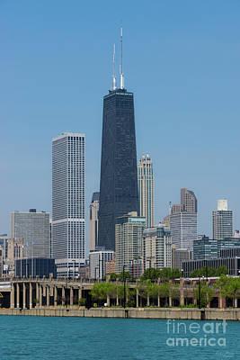 Photograph - Chicago's John Hancock by Jennifer White
