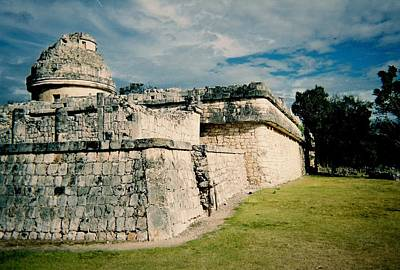 Firefighter Patents Royalty Free Images - Chichen Itza 1 Royalty-Free Image by Anita Burgermeister