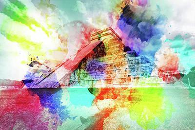 Chichen Itza Painting - Chichen Itza by Enki Art