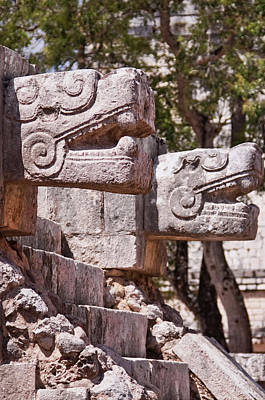 Photograph - Chichen Itza Jaguars by Tatiana Travelways