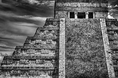 Archeology Photograph - Chichen Itza-mayan Temple by John Hamlon