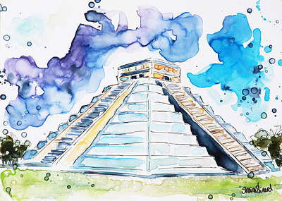 Chichen Itza Original by Shaina Stinard
