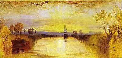 Chichester Canal Art Print