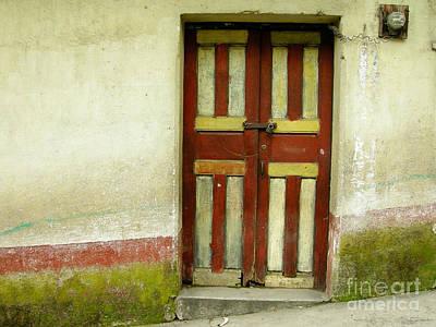 Photograph - Chichi Door by Derek Selander